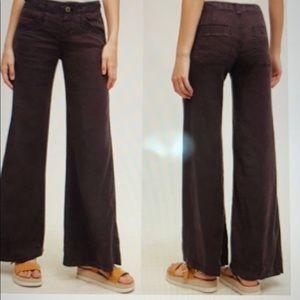 Anthropologie Hei Hei Wide Leg Libby Pants